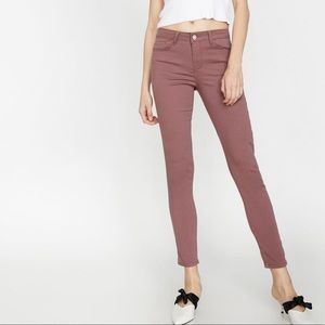 GAP true skinny jeans stretch denim terra cotta 26